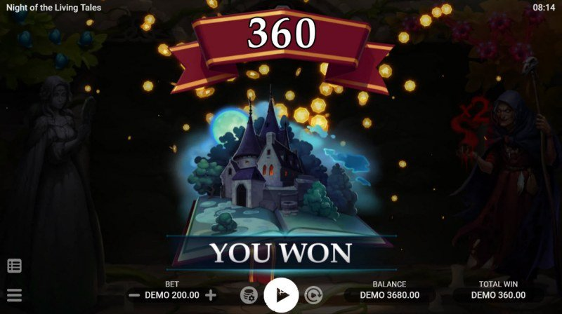 Night of the Living Tales :: Total Free Spins Payout