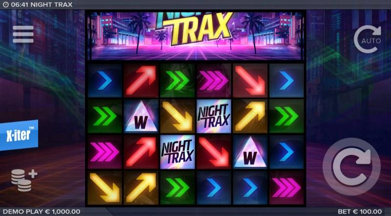 Night Trax :: Base Game Screen