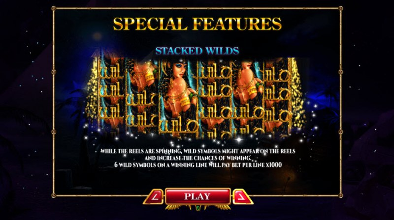 Nights of Egypt Expanded Edition :: Stacked Wilds