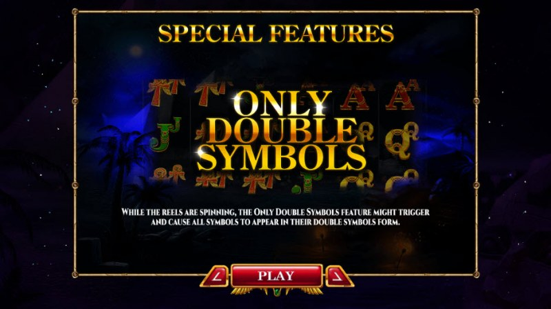 Nights of Egypt Expanded Edition :: Only Double Symbols