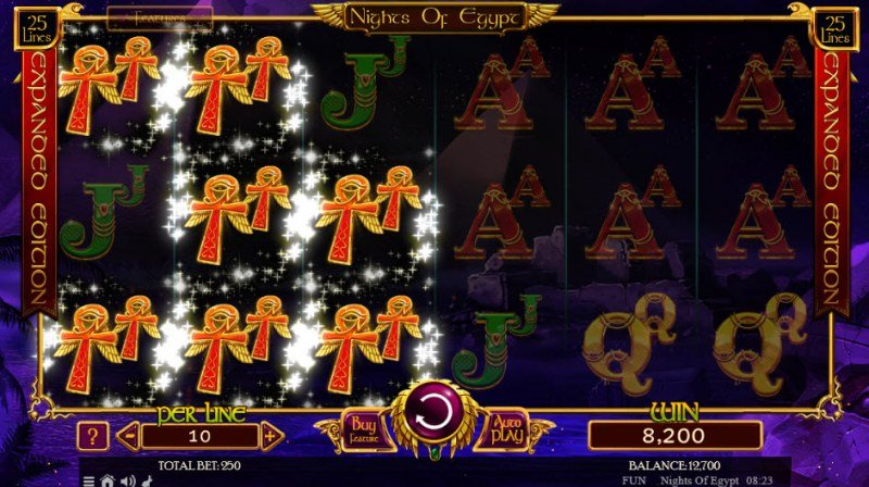 Nights of Egypt Expanded Edition :: Double symbols win