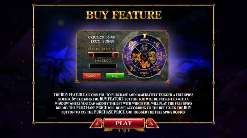 Nights of Egypt Expanded Edition :: Buy Feature