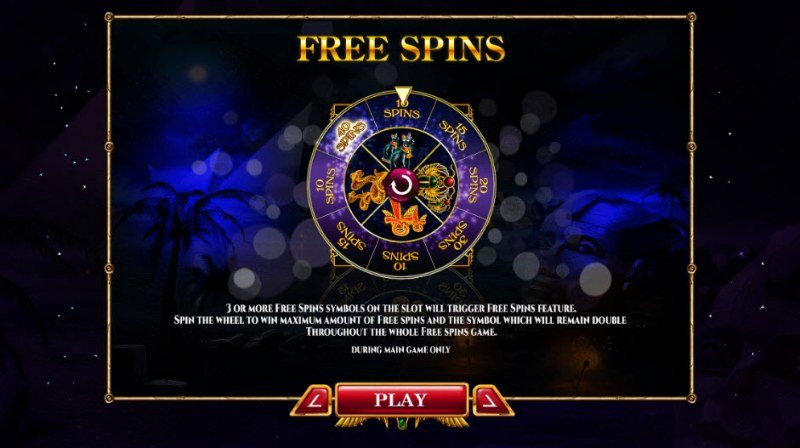 Nights of Egypt Expanded Edition :: Free Spins Rules