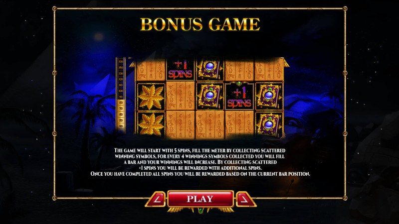 Nights of Egypt :: Bonus Game Rules