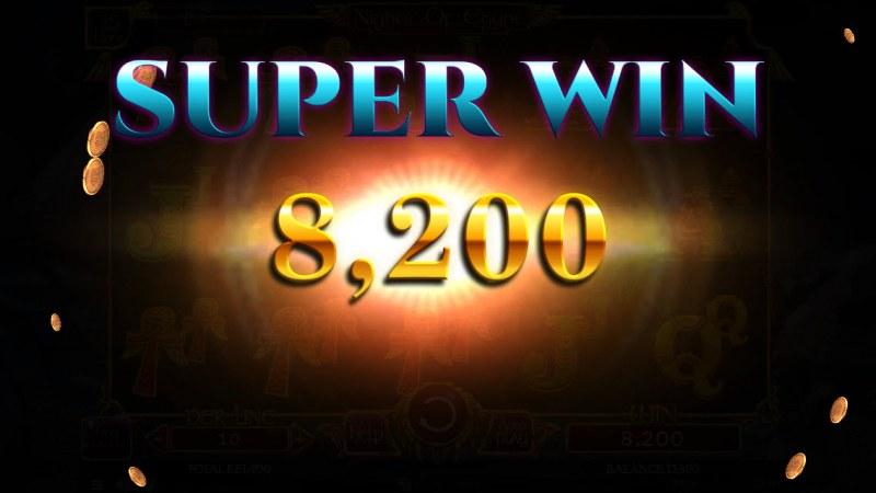 Nights of Egypt :: Super Win