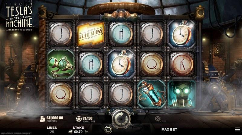 Nikola Tesla's Incredible :: Main Game Board