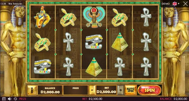 Nile Treasures :: Main Game Board