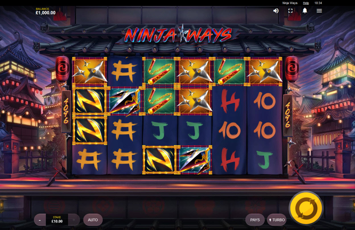 Ninja Ways :: Main Game Board