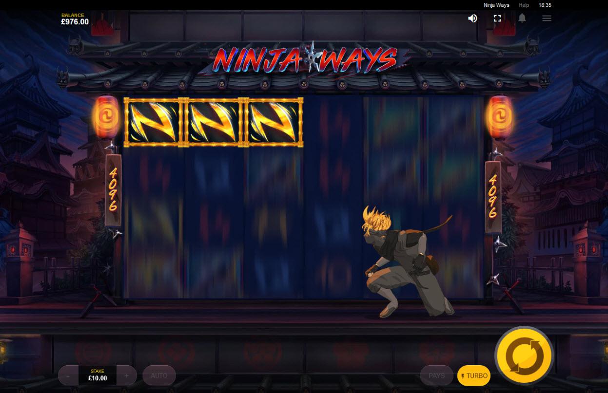 Ninja Ways :: Ninja Ways feature triggered