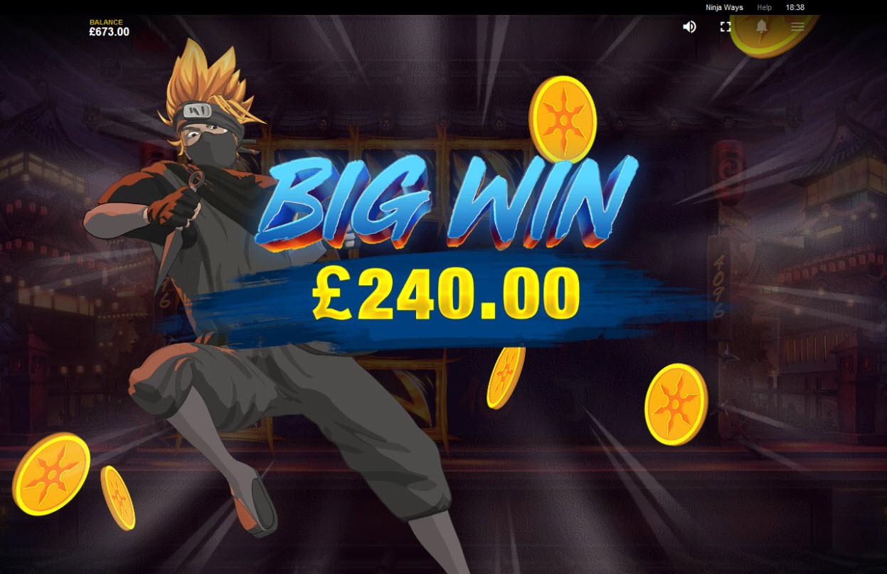Ninja Ways :: Big Win