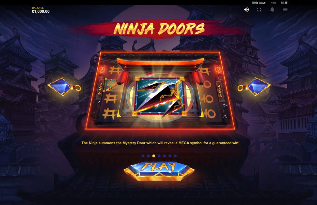 Ninja Ways :: Ninja Doors