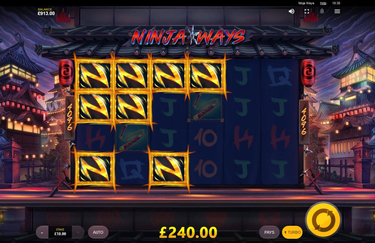 Ninja Ways :: Multiple winning combinations