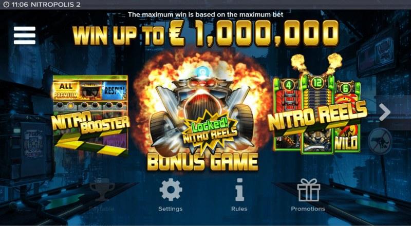 Nitropolis 2 :: Win Up To $1,000,000