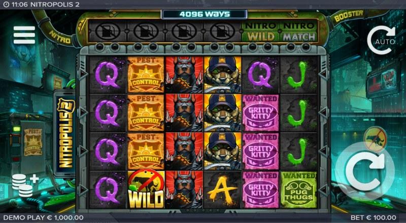 Nitropolis 2 :: Main Game Board