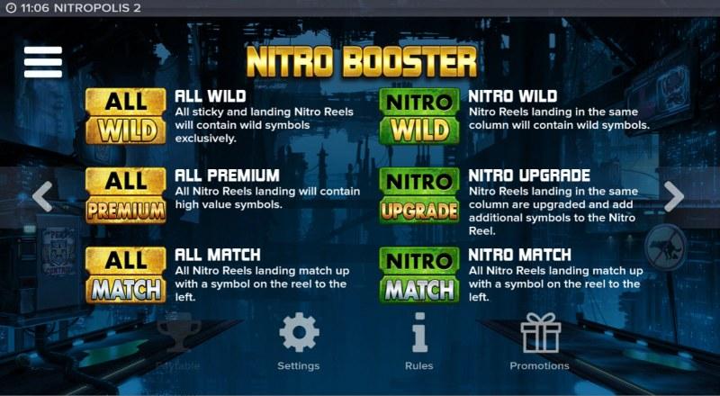 Nitropolis 2 :: Feature Rules