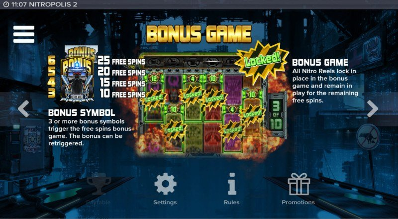 Nitropolis 2 :: Bonus Feature