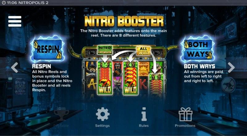 Nitropolis 2 :: Nitro Booster