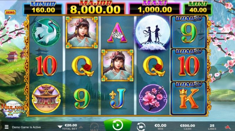 Niulang and Zhinu Quad Shot :: Main Game Board