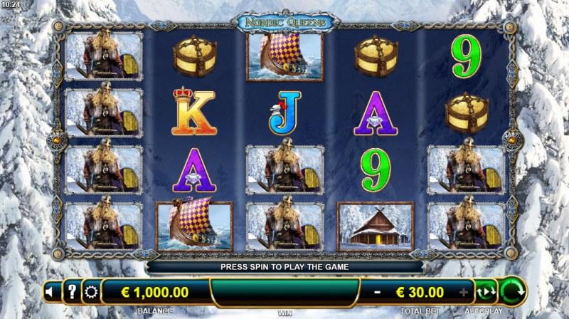 Nordic Queens Thyra's Treasure :: Main Game Board