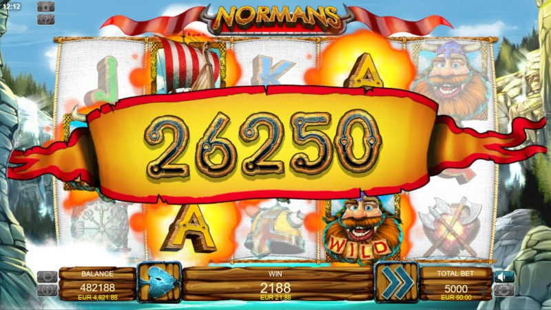 Normans :: Multiple winning paylines