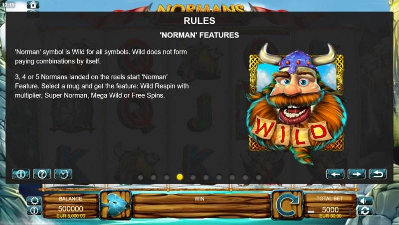 Normans :: Wild Symbols Rules