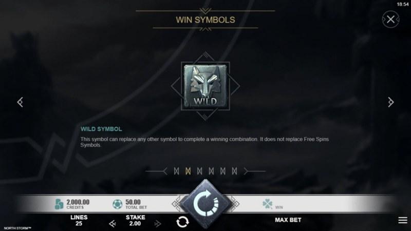 North Storm :: Wild Symbols Rules