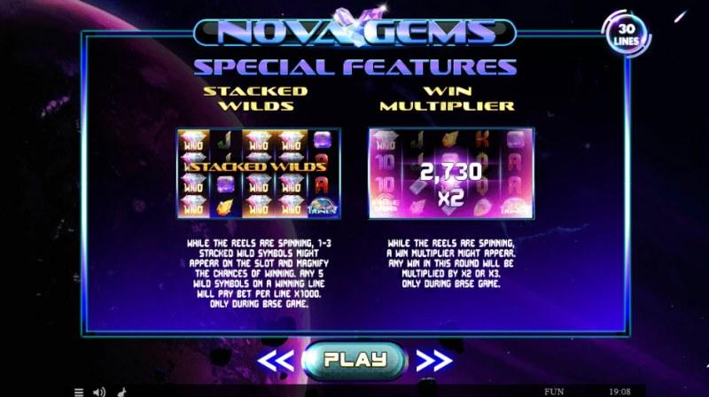 Nova Gems :: Feature Rules