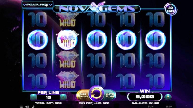 Nova Gems :: Multiple winning paylines