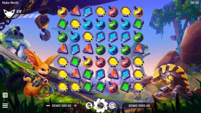 Nuke World :: Main Game Board