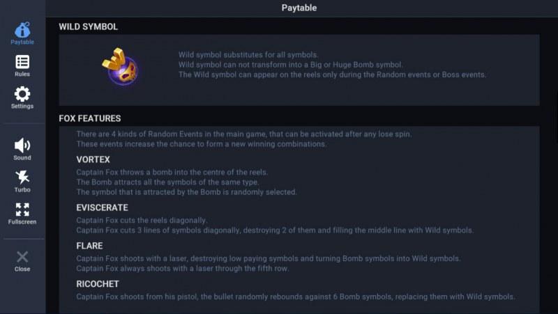 Nuke World :: Wild Symbol Rules