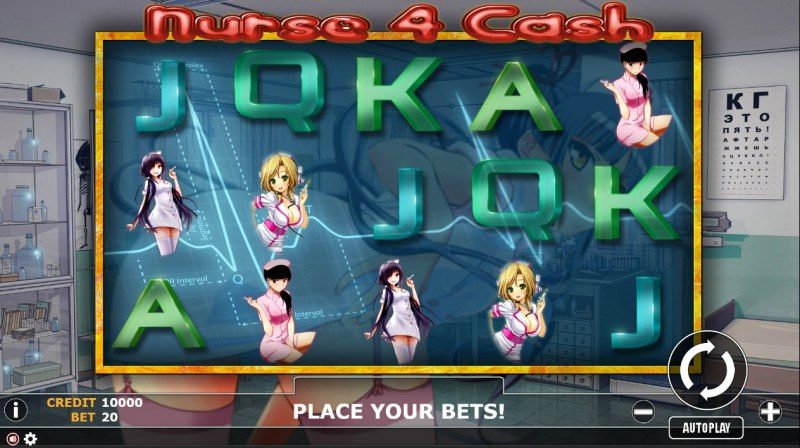 Nurse 4 Cash :: Main Game Board