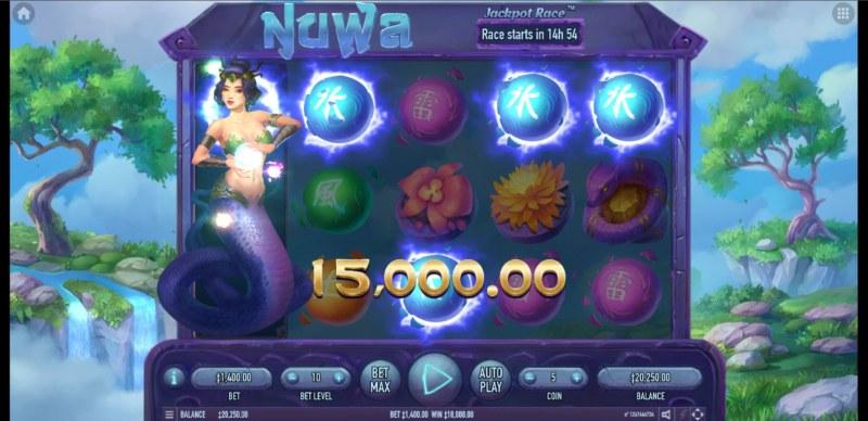 Nuwa :: A five of a kind win