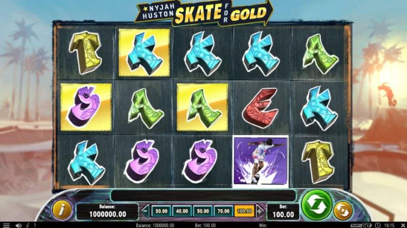 Nyjah Huston Skate for Gold :: Main Game Board