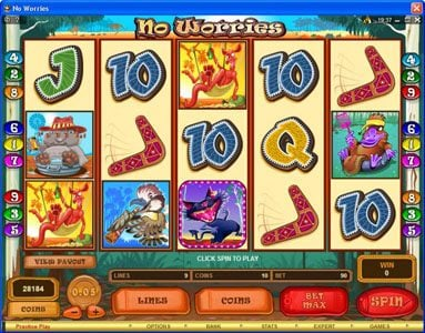 Play slots at Wildz Casino: Wildz Casino featuring the Video Slots No Worries with a maximum payout of $12,500