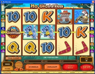 Play slots at Zodiac: Zodiac featuring the Video Slots No Worries with a maximum payout of $12,500