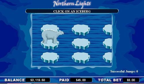 Golden Riviera featuring the video-Slots Northern Lights with a maximum payout of 6,000x
