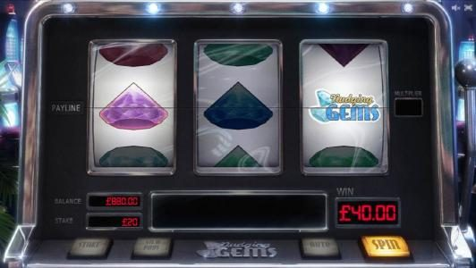 here is an example of a nudging symbol triggering a $40 jackpot
