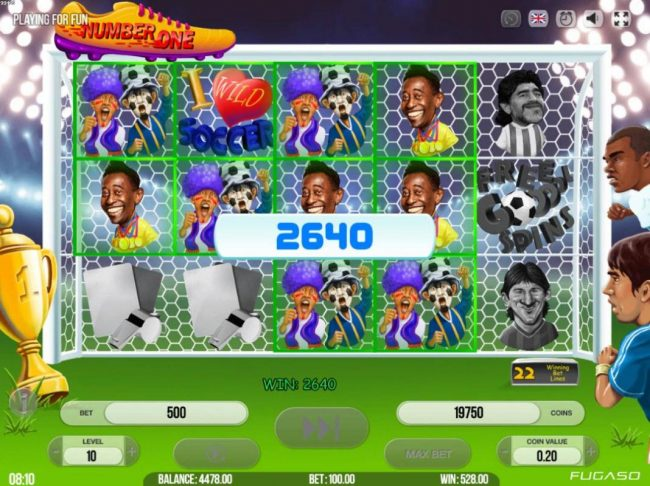 Casino Dingo featuring the Video Slots Number One with a maximum payout of $495,000