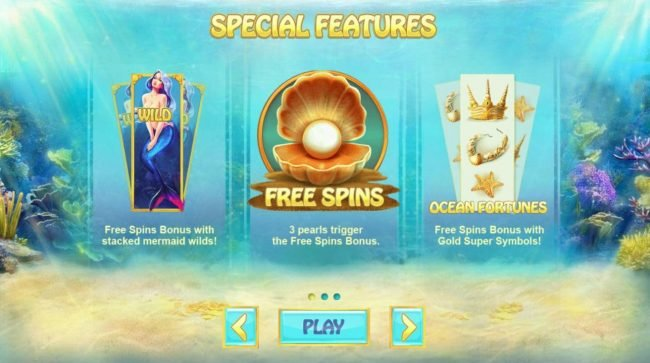 MANSION featuring the Video Slots Ocean Fortune with a maximum payout of $12,500