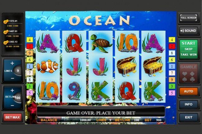 Ocean :: Main Game Board
