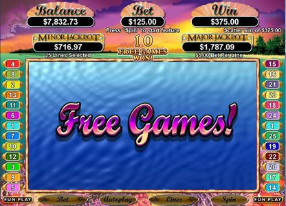 Play slots at Slots Inferno: Slots Inferno featuring the Video Slots Ocean Dreams with a maximum payout of $250,000