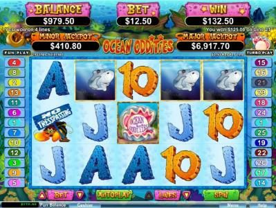 High Noon featuring the Video Slots Ocean Oddities with a maximum payout of $50,000