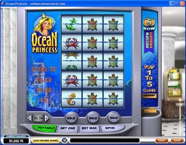Magic Box featuring the Video Slots Ocean Princess with a maximum payout of $25,000