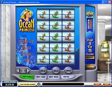 Class 1 Casino featuring the Video Slots Ocean Princess with a maximum payout of $25,000