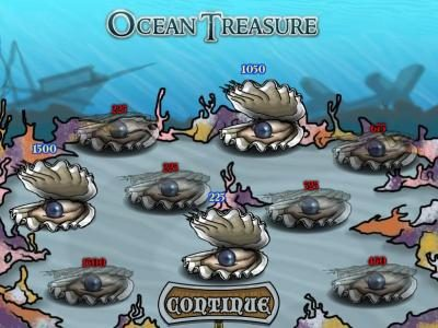 Gibson featuring the Video Slots Ocean Treasure with a maximum payout of $25,000