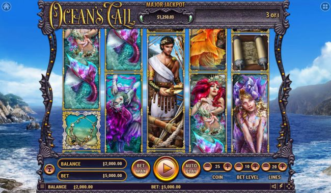 Play slots at Kingbit Casino: Kingbit Casino featuring the Video Slots Ocean's Call with a maximum payout of $2,500,000