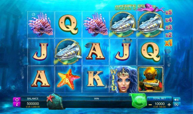 Ocean's Secret :: Main Game Board