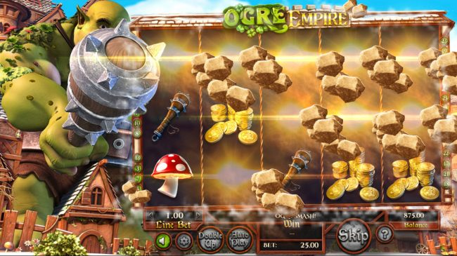 Box24 featuring the Video Slots Ogre Empire with a maximum payout of $25,000