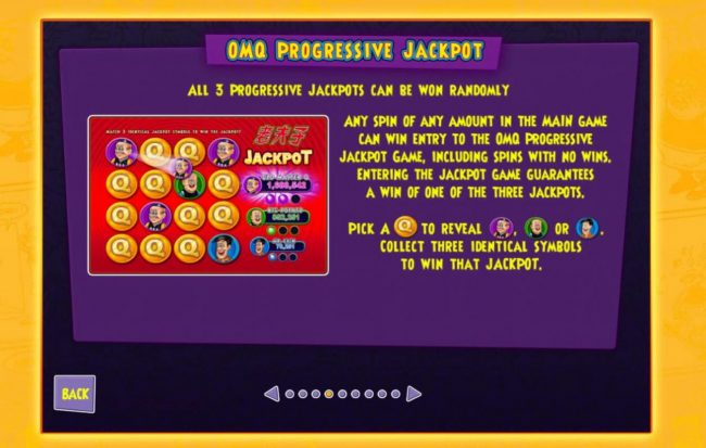 Old Master Q :: Progressive Jackpots Rules
