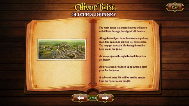 Olivers Journey - The main bonus is a quest that you will go on with Oliver through the edge of old London.